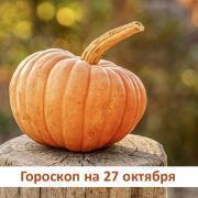 Гороскоп на 27 октября 2019: страхи, чаще всего оказываются просто иллюзиями