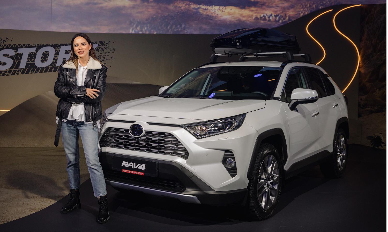 Светская хроника: как прошла презентация Toyota RAV4 в Москве