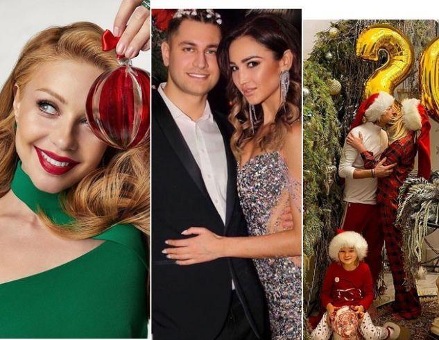 Как звезды отметили Новый год: яркие фото и трогательные поздравления