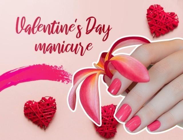 Романтическое настроение: лучшие идеи для маникюра на 14 февраля
