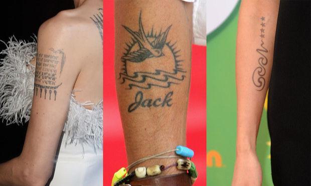 Это любовь: звезды и их татуировки в честь детей
