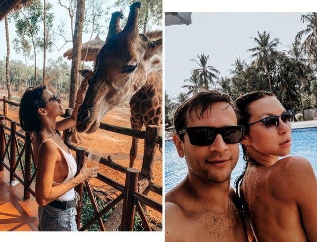 Как отдыхают звезды: телеведущая Полина Логунова с дочкой и мужем побывала во Вьетнаме (ФОТО)