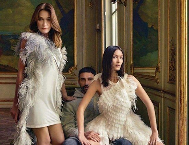 Звездное трио: Карла Бруни, Белла Хадид и Рикардро Тиши украсили обложку французского глянца