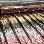 Ткань с пайетками: свойства, разновидности и сфера применения