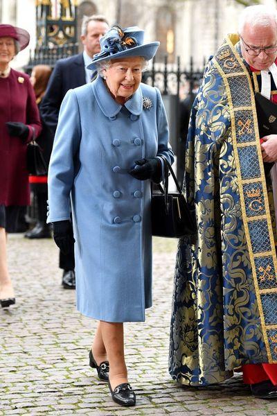Все в сборе: королевская семья на службе в Вестминстерском аббатстве (ФОТО)