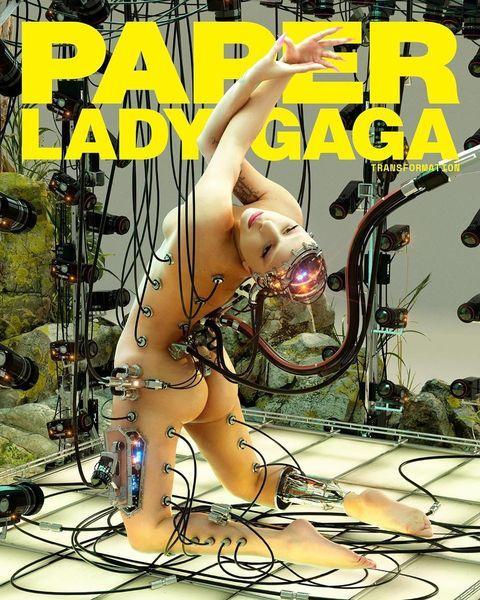 Обнаженная Леди Гага появилась в эпатажной фотосессии для Paper (ФОТО)