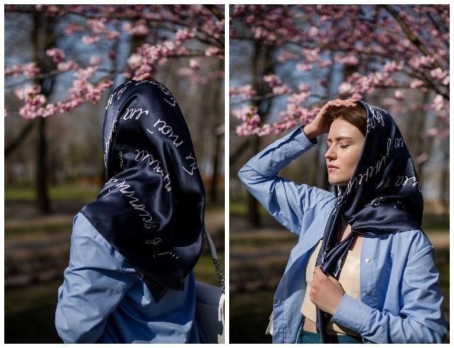 Украшаемся поэзией: Oliz выпустили коллекцию платков в честь Лины Костенко