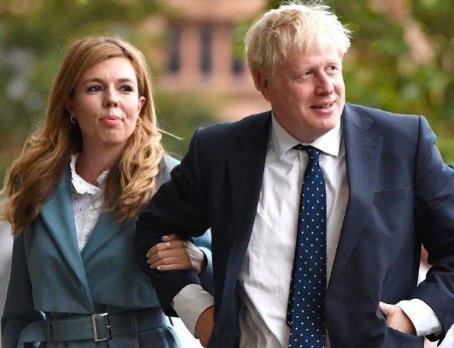 Беременная невеста премьер-министра Великобритании обнаружила у себя симптомы коронавируса