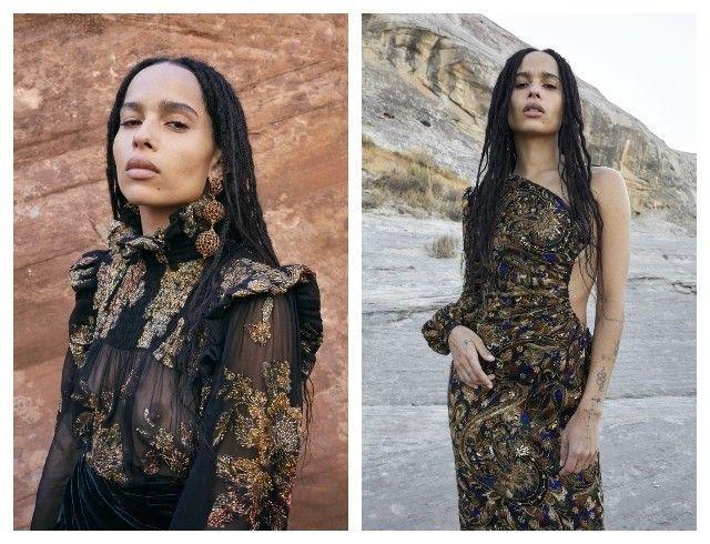 Марокканские мотивы и непревзойденная Зои Кравиц в новой кампании Saint Laurent (ФОТО+ВИДЕО)
