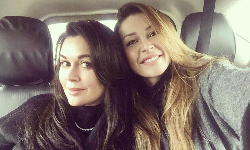 Анна Заворотнюк о маленькой сестре: «Это любовь со щемящей болью»