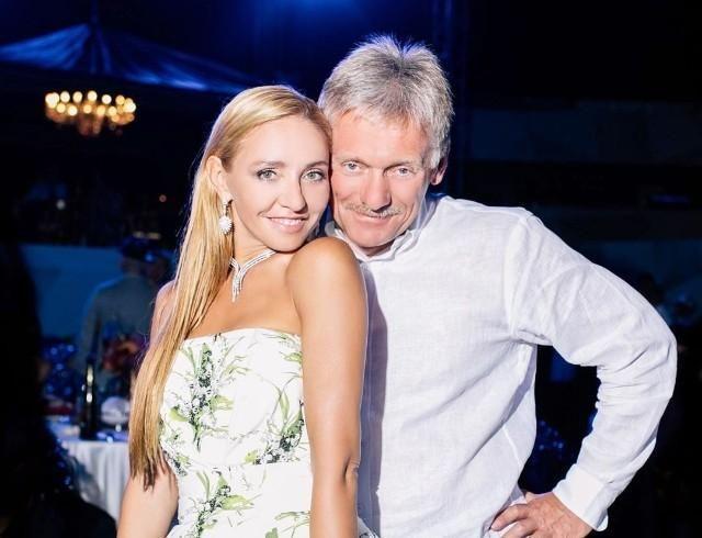 Дмитрий Песков и Татьяна Навка заболели коронавирусом