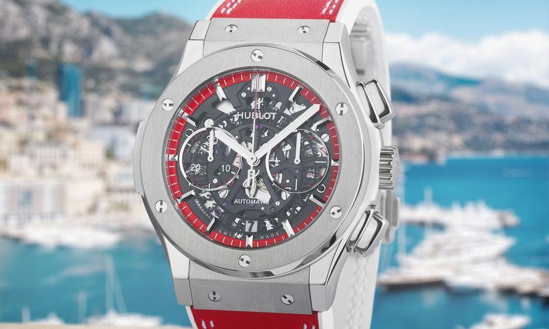 Объект желания: лимитированные часы Hublot в цвете флага Монако