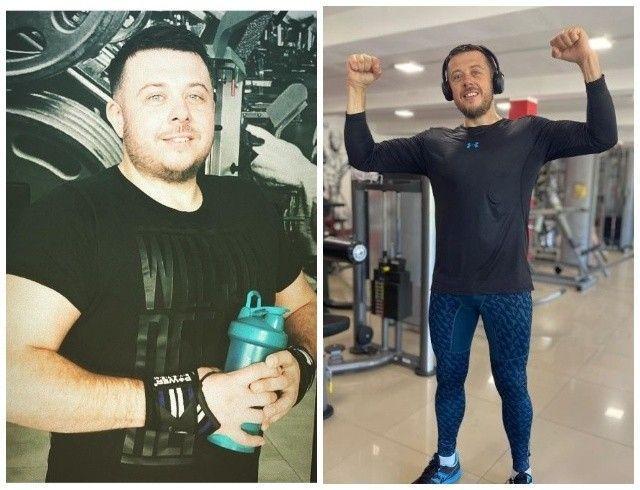 Похудел на спор: актер Виталий Тыльный избавился от 30 килограммов