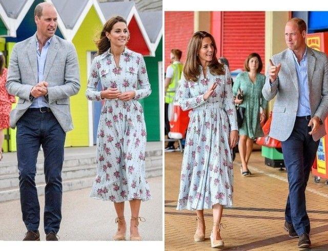 Кейт Миддлтон и принц Уильям появились на встречах в Южном Уэльсе (ФОТО)