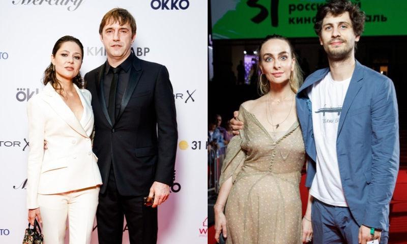 Самые красивые звездные пары на «Кинотавре-2020»