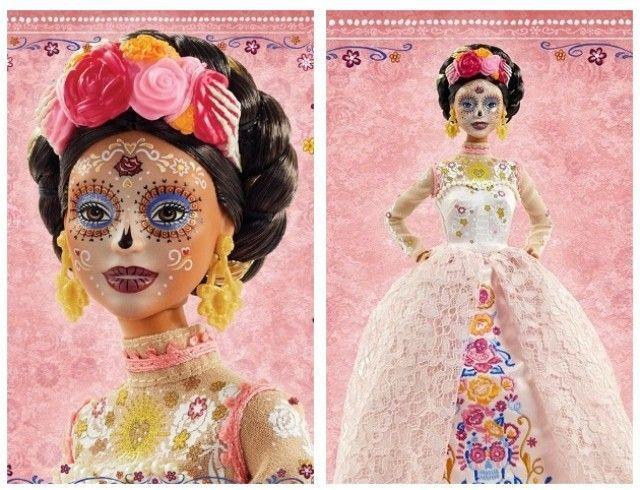 Страшно красиво: Mattel выпустят куклу Барби ко Дню мертвых