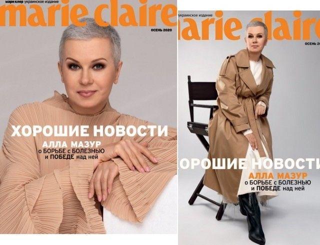 Алле Мазур исполняется 55: телеведущая появилась в стильной фотосессии и рассказала о победе над раком