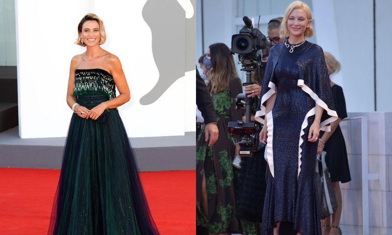 Тейлор Хилл, Кейт Блашетт и другие звезды на открытии Венецианского фестиваля