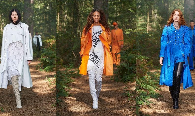 Побег от реальности: Burberry показал шоу в волшебном лесу