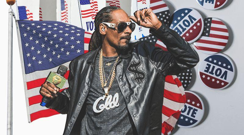 5 забавных призывов знаменитостей не забыть про выборы президента США